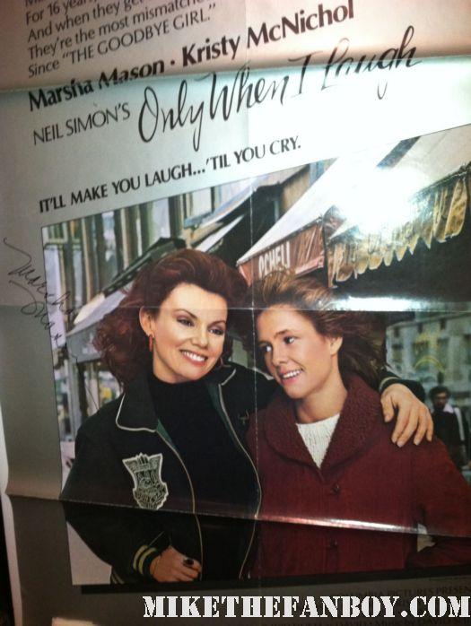marsha mason rare signed autograph photo rare promo hot sexy oscar winner legendary actress promo