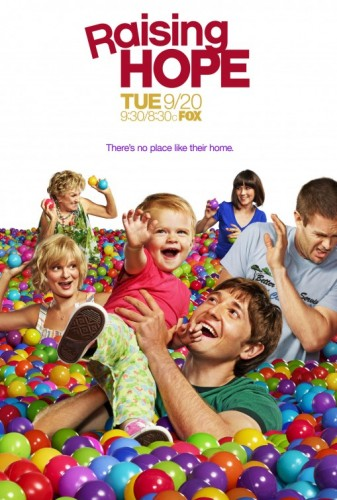 raising hope rare season 2 promo poster ad martha plimpton cloris leachman garrett dillahunt