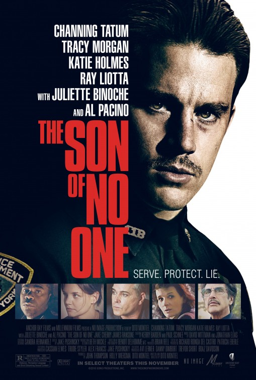 the son of no one rare one sheet movie poster channing tatum sexy hot magic mike juliette binoche hot sexy rare promo poster shirtless promo hot sexy