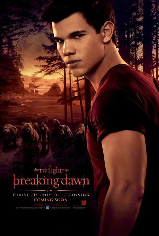 twilight_saga_breaking_dawn_part_one_ver3 taylor lautner rare promo one sheet movie poster shirtless hot muscle rare promo teaser poster hot sexy taylor lautner