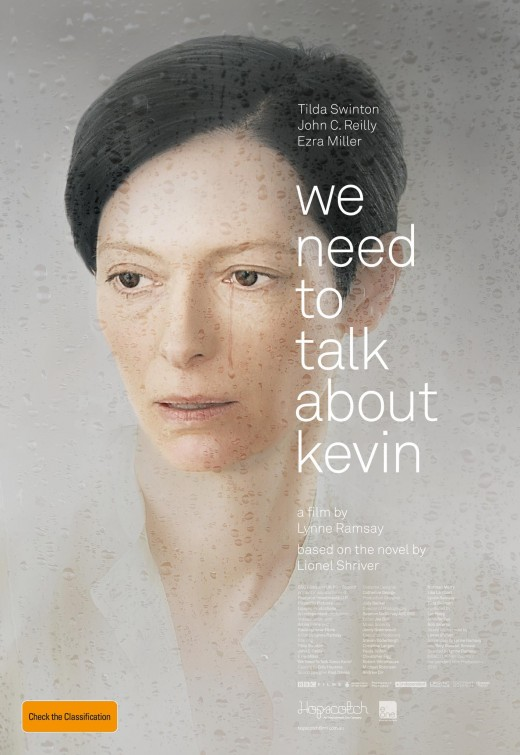 we need to talk about kevin promo movie poster one sheet tilda swinton individual promo poster hot rare