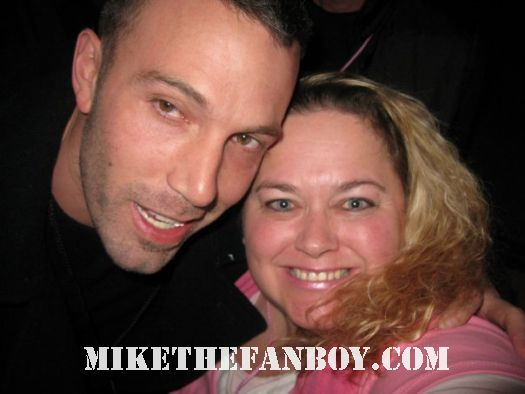 pinky with forces of nature star and sexy hunk mr. ben affleck at sundance in utah