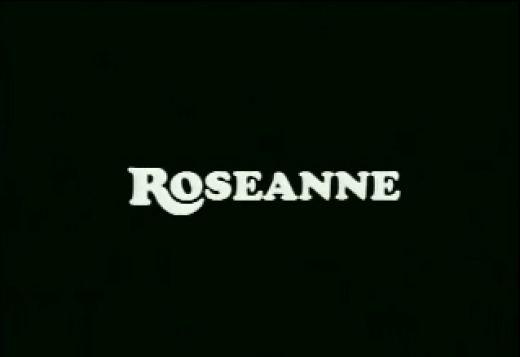 Roseanne tv show cast photo rare john goodman roseanne barr laurie metcalf dan fishman sarah gilbert Roseanne television show logo rare roseanne barr rare promo show logo title promo
