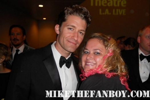 pretty in pinky with  matthew morrison from Glee at the 2011 emmy awards hot sexy rare er