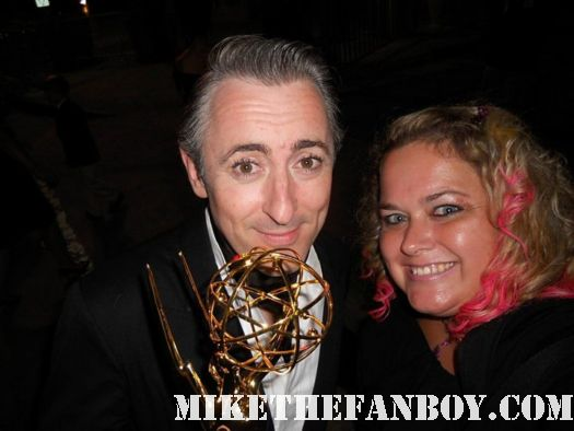 pretty in pinky with alan cumming from the good wife at the 2011 emmy awards hot sexy rare er