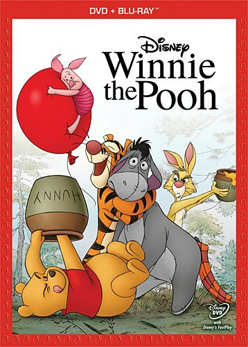 Winnie the pooh movie dvd blu ray combo pack eeyore tigger rabbit hot rare promo piglet