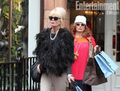 Absolutely-Fabulous new 2011 press promo still entertainment weekly joanna lumley patsy jennifer saunders edina rare hot logo bbc america 2011 new special