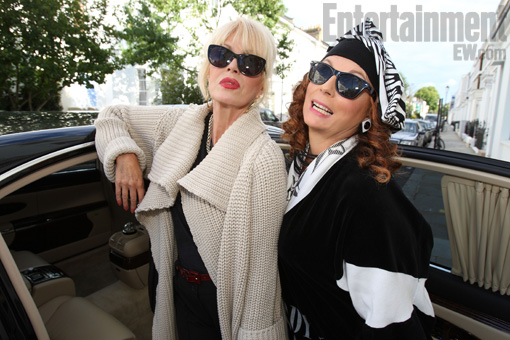 Absolutely-Fabulous abfab ab fab Absolutely-Fabulous new 2011 press promo still entertainment weekly joanna lumley patsy jennifer saunders edina rare hot logo bbc america 2011 new special