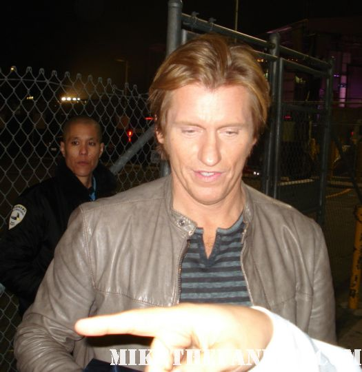 the ref star dennis leary signs autographs for fans after a talk show rescue 911 rare promo MTV