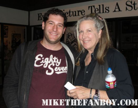 mike the fanboy with betty thomas from troop beverly hills Velda Proctor hill street blues 28 days director i spy