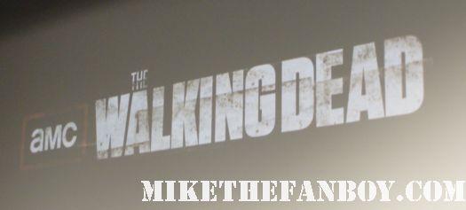 The Walking Dead season 2 premiere with cast q and a Jon Bernthal! Sarah Wayne Callies! Laurie Holden! Jeffrey DeMunn! Steven Yeun! Chandler Riggs! Norman Reedus!