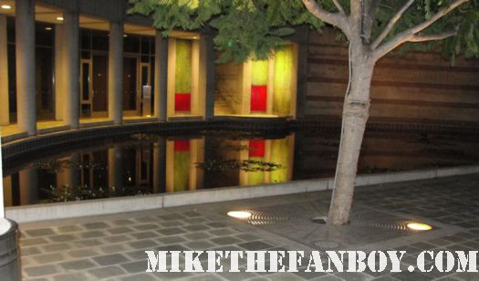 the tide pool at the skirball center in los angeles at a recent visit to try and meet kathleen turner rare signed autograph