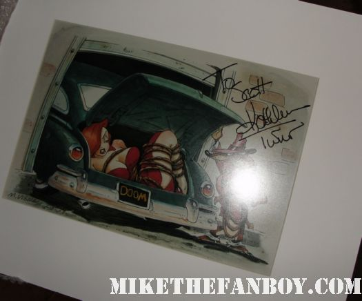 kathleen turner signed autograph who framed roger rabbit rare promo lithograph