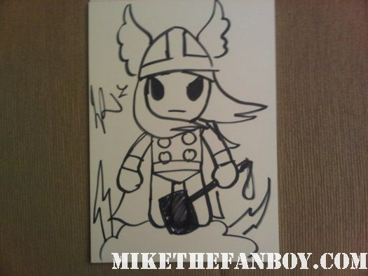 Simone Legno, the creator of the criminally cute Tokidoki characters original thor drawing adorable cute