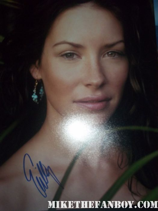 Evangeline Lilly signed autograph 8x10 photo rare promo hot sexy rare lost kate  Lost Star Ms. Evangeline Lilly kate stops to sign autographs for fans! Hot sexy photoshoot photo shoot Evangeline Lilly rare promo autograph signed