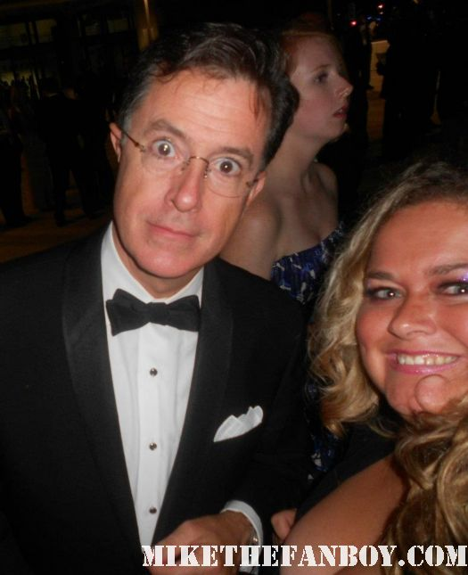 Stephen Colbert pretty in pinky with  Stephen Colbert from Strangers with Candy at the 2011 emmy awards hot sexy rare er