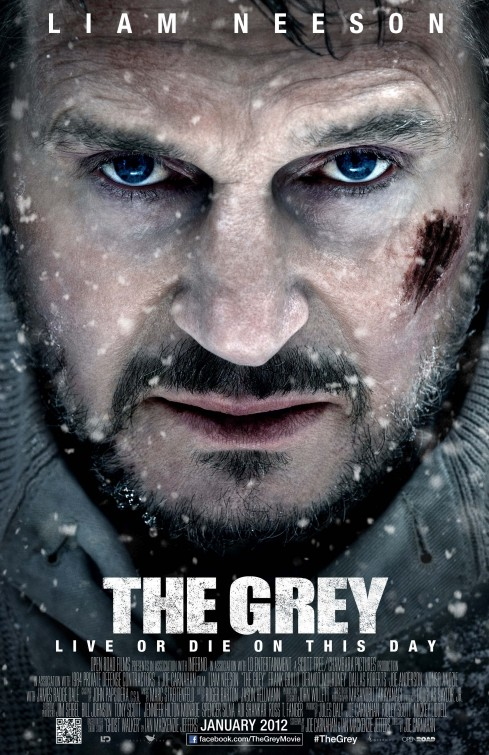 the grey rare one sheet movie poster liam neeson promo poster hot sexy love actually unknown teaser poster