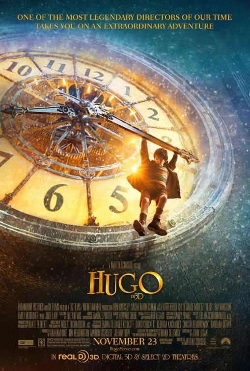 martin scorsese hugo rare one sheet movie poster rare promo teaser poster november 23rd rare promo