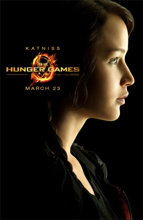 hunger_games_ver15 katniss everdeen jennifer lawrence promo individual movie poster promo rare hot sexy one sheet movie poster sexy x men first class