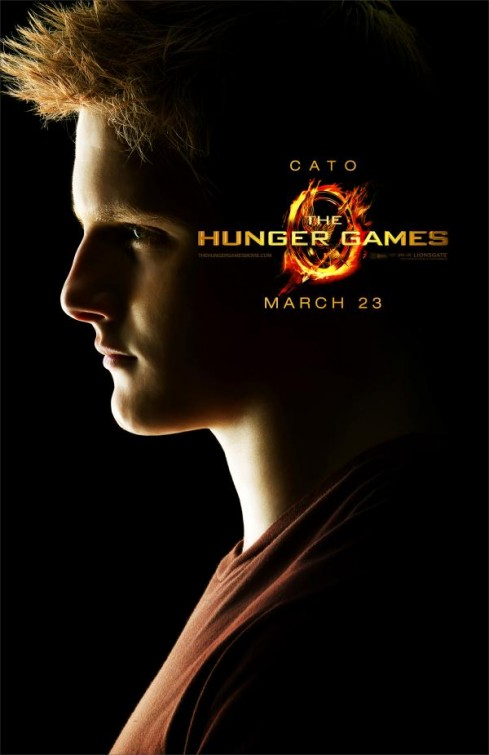 hunger_games_ver18 Cato rare individual movie poster hunger games Alexander Ludwig hot sexy rare