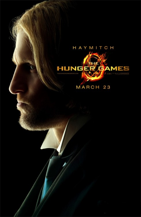 hunger_games_ver20 Haymitch individual promo movie poster hunger games Woody Harrelson cheers kingpin