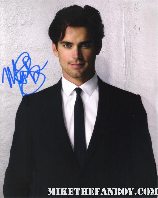 matt bomer signed autograph 8x10 photo hot sexy rare promo white collar damn fine sexy rare promo chuck