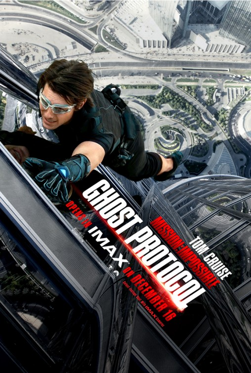 mission_impossible_ghost_protocol rare one sheet movie poster version 2 tom cruise hot sexy rare jeremy renner promo