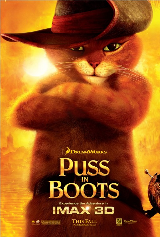 antonio banderas in Puss and boots rare one sheet movie poster hot sexy rare promo poster fire