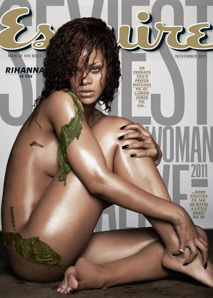 rihanna esquire sexiest woman alive magazine cover sext hot naked rare rihanna-esquire-magazine-november-2011 sexy hot naked wet photo shoot rare promo sexy hot rihanna disturbia damn fine boob rare promo