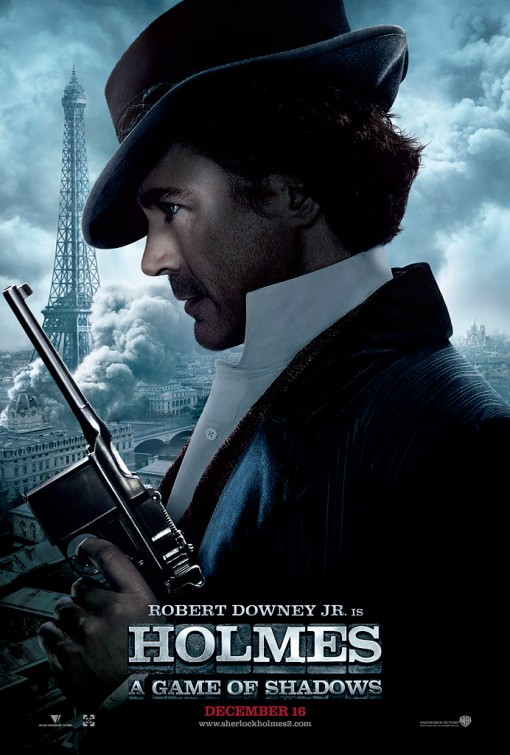sherlock_holmes_a_game_of_shadows_ver3 individual rare robert downey jr promo one sheet movie poster hot sexy rare sherlock holmes 2