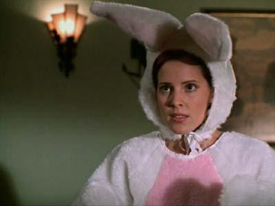 bunny anya in buffy the vampire slayer episode fear itself starring emma caulfield as anya bunny anya