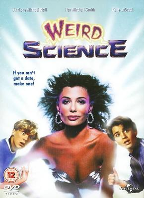 weird-science rare promo one sheet movie poster dvd cover anthony michael hall iian mitchell smith
