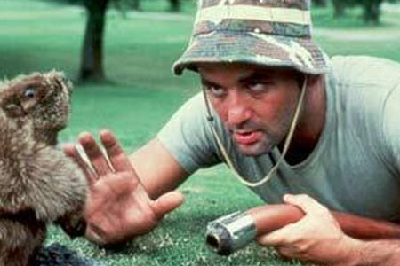 bill murray cadddyshack rare promo press still gopher hot rare movie comedy rare promo dance