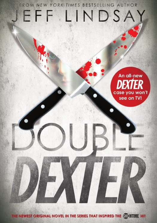 double dexter book jacket by Jeff Lindsey michael c hall novel book rare dexter showtime killer rare promo contest