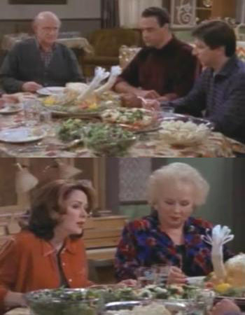 everybody loves raymond thanksgiving classic episode with patricia heaton ray romano tofurkey