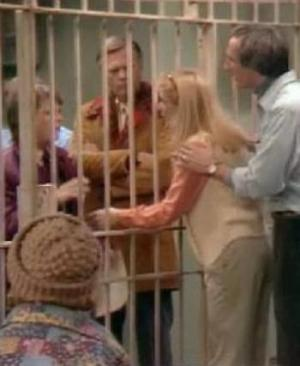 family ties classic thanksgiving episode steve and elise keaton in prision jail rare michael j fox