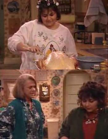 roseanne classic television thanksgiving episode roseanne barr rare thanksgiving promo hot
