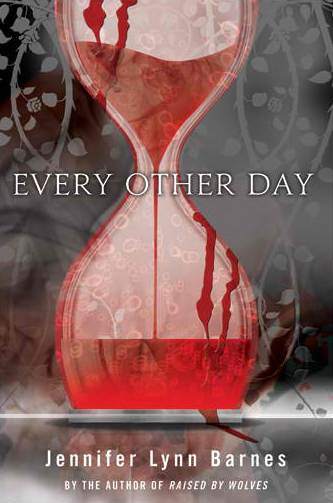 every other day jennifer lynn barnes book review dust jacket hour glass of blood rare promo hot young adult novel