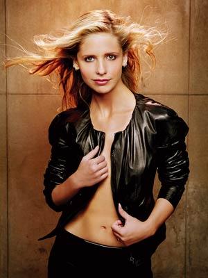 Buffy the vampire slayer sarah michelle gellar rare season 7 promo photo shoot entertainment weekly buffy quits promo cover shoot