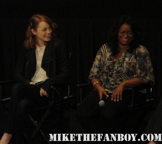 the help cast q and a with alison janney octavia spencer viola davis emma stone bryce dallas howard signed autograph promo