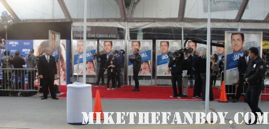 the red carpet at the adam sandler supposed comedy jack and jill world movie premiere rare hot sexy david spade katie holmes promo