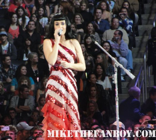 Katy Perry Live in Concert at the Staples center in los angeles california dreams closing night world tour rare hot sexy katy perry 2011