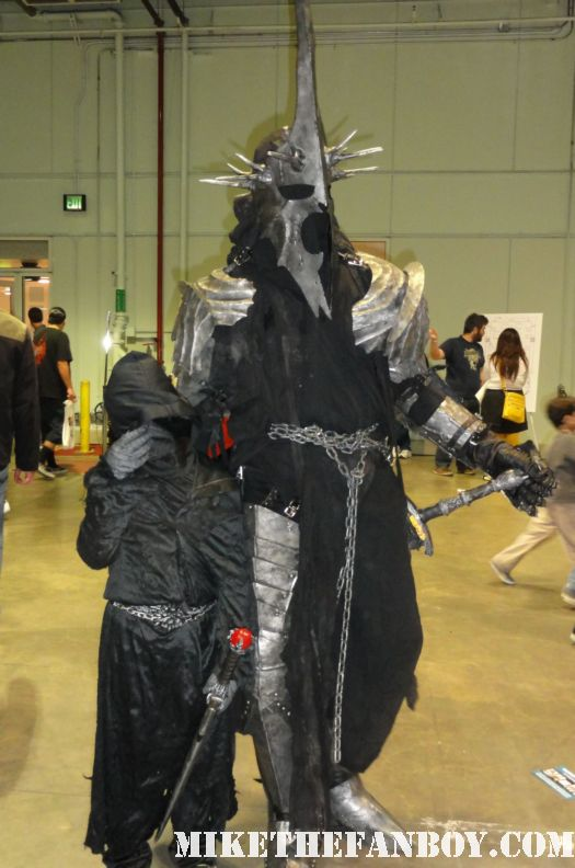 lord of the rings cosplayers costumed people at the comikaze expo 2011 los angeles convention center rare promo
