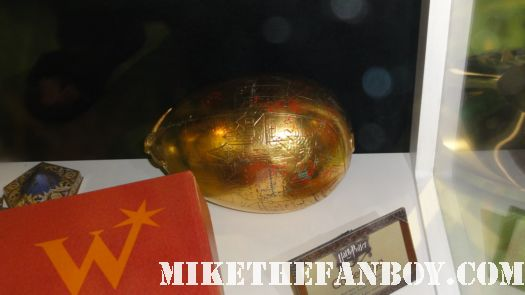 harry potter prop and costume display rare promo rare daily prophet newspaper harry potter and the deathly hallows golden dragon egg