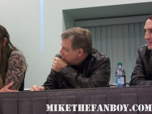 Star Wars Legend Mr. Mark Hamill at the sushi girl panel at comikaze expo 2011 in downtown los angeles