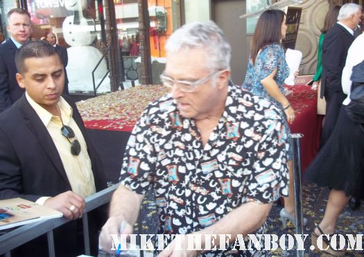 john lasseter walk of fame star ceremony randy newman signing autographs for fans at john lassetter's walk of fame star ceremony