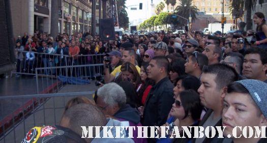 shakira's walk of fame star ceremony on hollywood blvd rare hot sexy shakira promo rare signed autograph