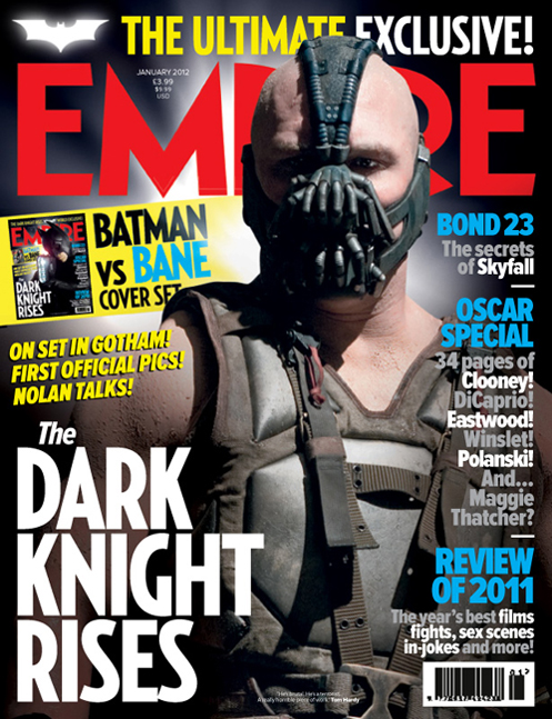 rare empire magazine bane magazine cover the dark knight rises rare hot tom hardy promo bane promo photo bane magazine cover