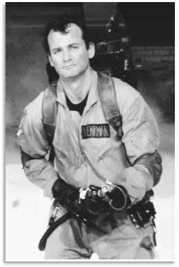 bill-murray-ghostbusters rare press promo still photo rare hot peter venkman ghostbuster 3