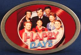 happy days logo cast photo press promo still marion ross tom bosley henry winkler donny most ron howard